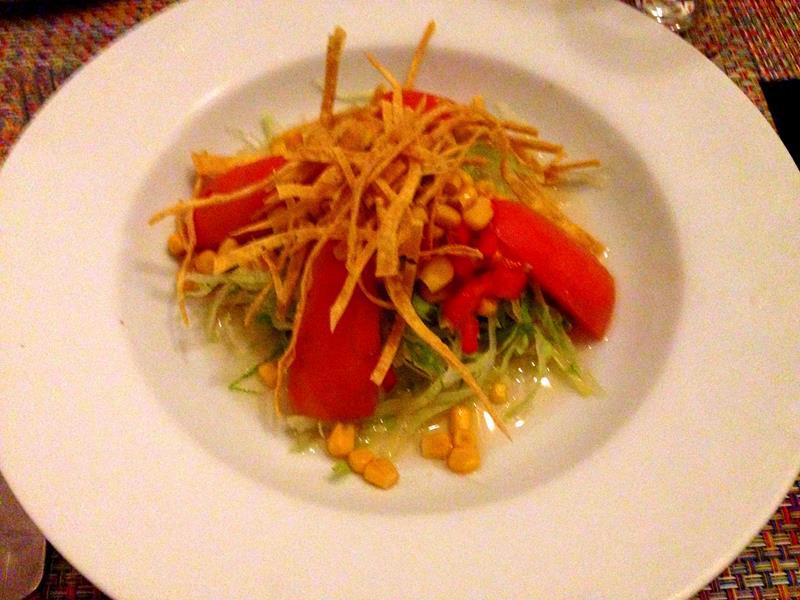 Sehr leckeres Essen auch im à-la-Carte Restaurant des Viva Wyndham Tangerine