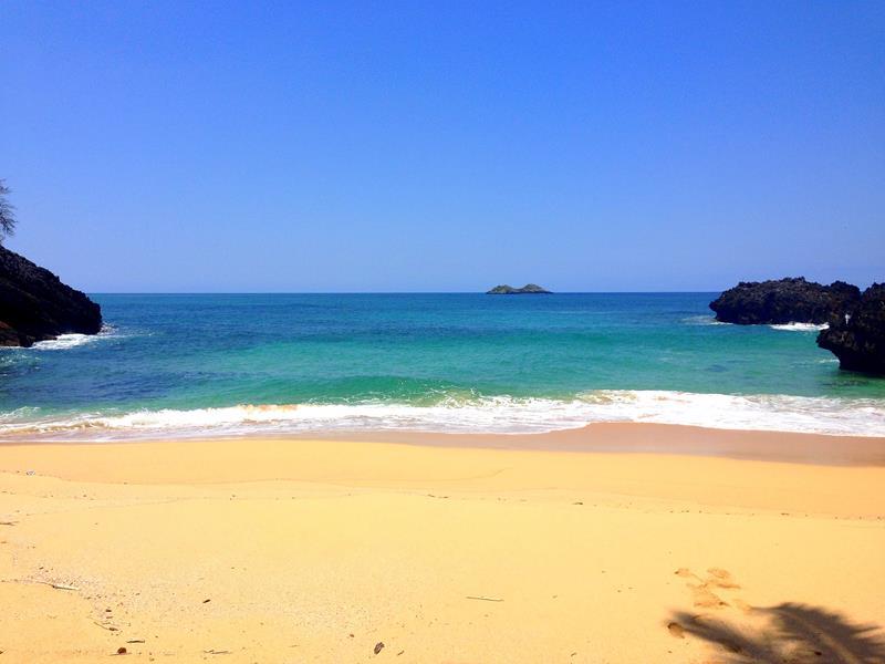 Auch der Playa Onda Samana auf Samaná ist sehr abgelegen und nur zu Fuß erreichbar