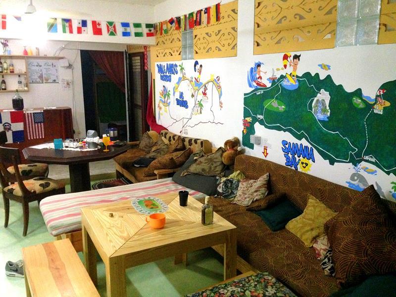 Das Hostel Dan & Mantys Guesthouse, eine tolle Backpacker-Unterkunft in Las Terrenas
