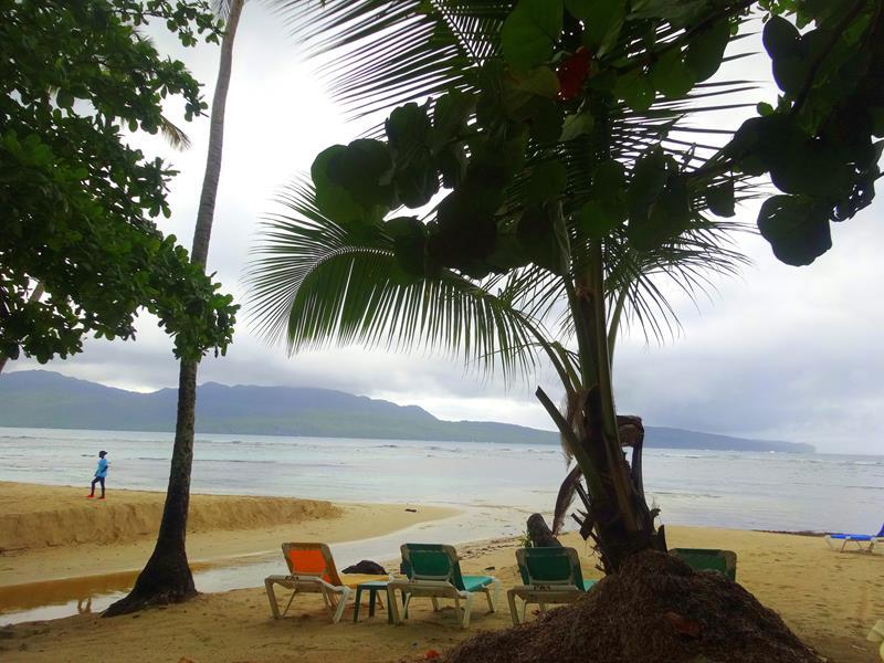 Playa La Playita nahe Las Galeras auf der Halbinsel Samaná