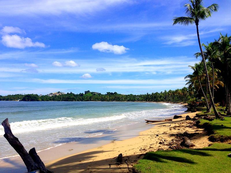 Der Playa Bonita in Las Terrenas auf der Halbinsel Samaná