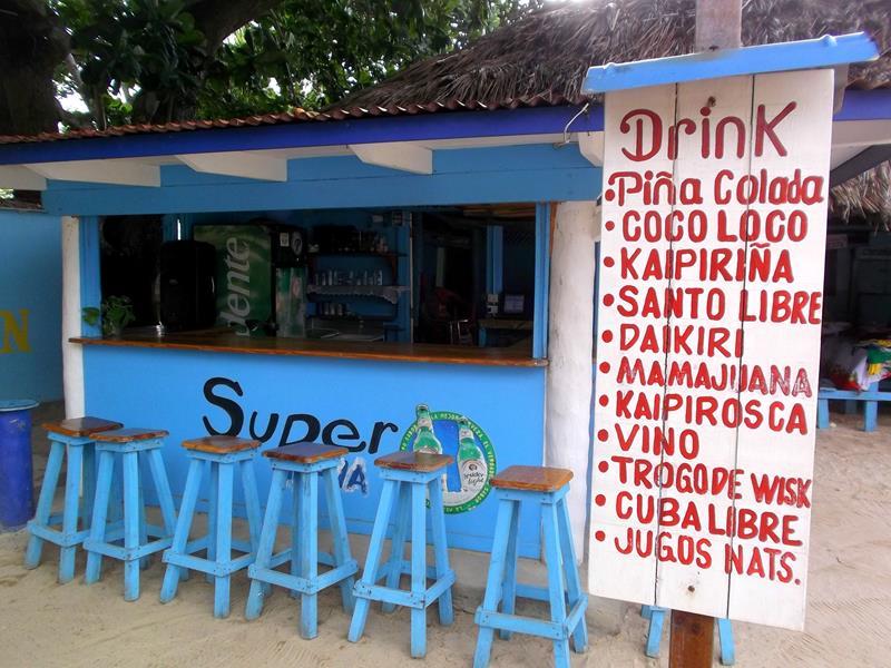 Eine tolle Strandbar in Las Galeras