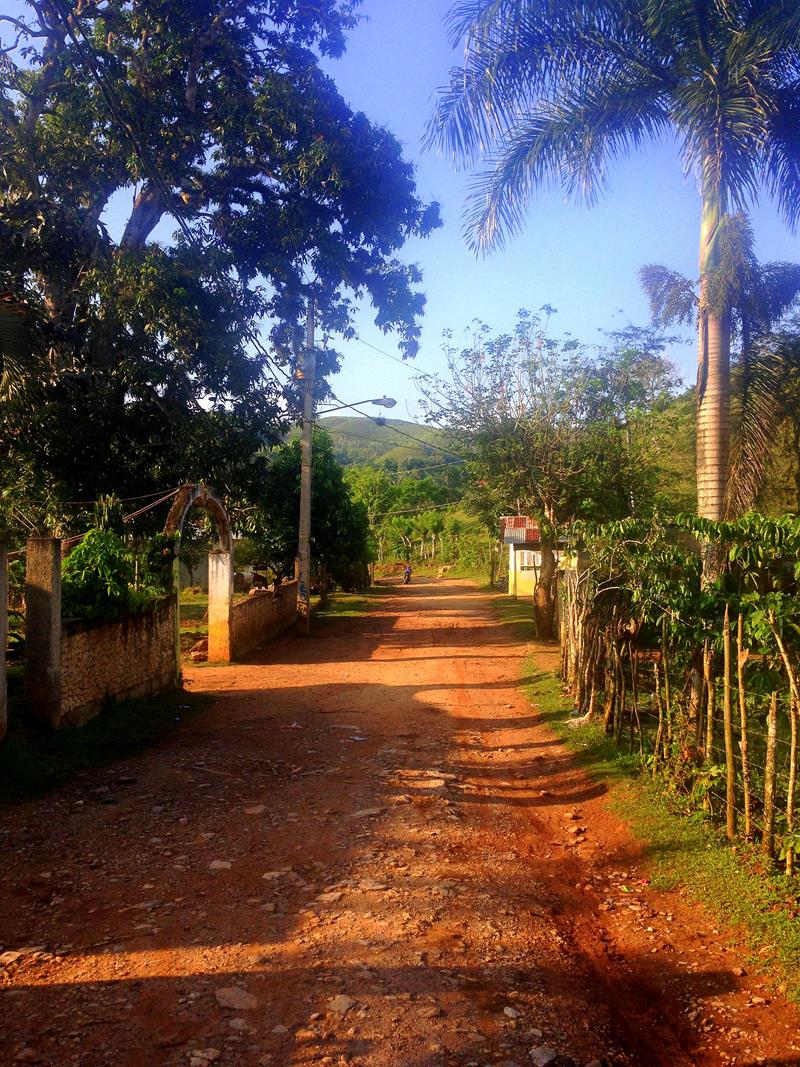 Landleben auf Samana