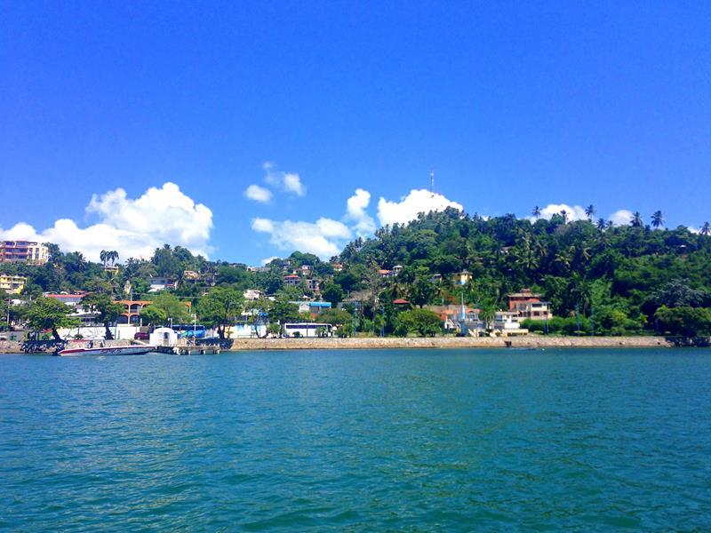 Blick auf Santa Barbara de Samana