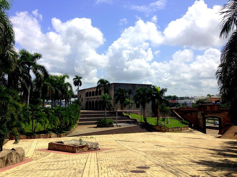 Casa Colon, das Haus von Columbus Sohn