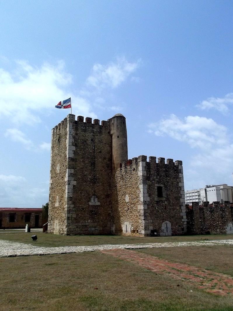 Die Festung von Santo Domingo, die Fortaleza Ozama