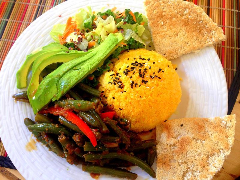 Kalenda. das einzige vegane Restaurant in der Zona Colonial