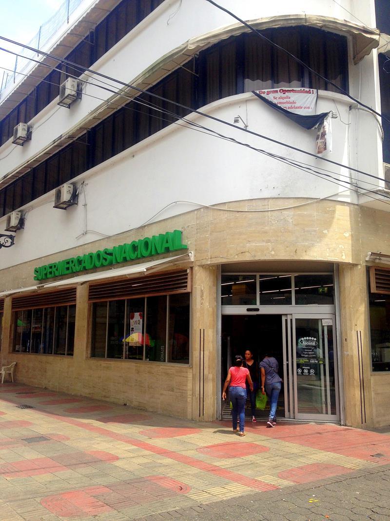 Auch einen großen Supermarkt gibt es in der Zona Colonial