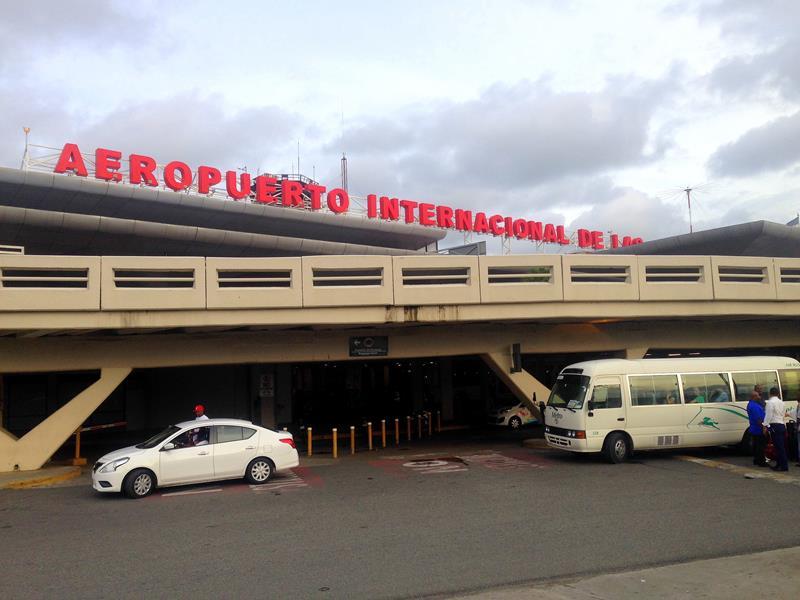 Der Flughafen Las Américas von Santo Domingo