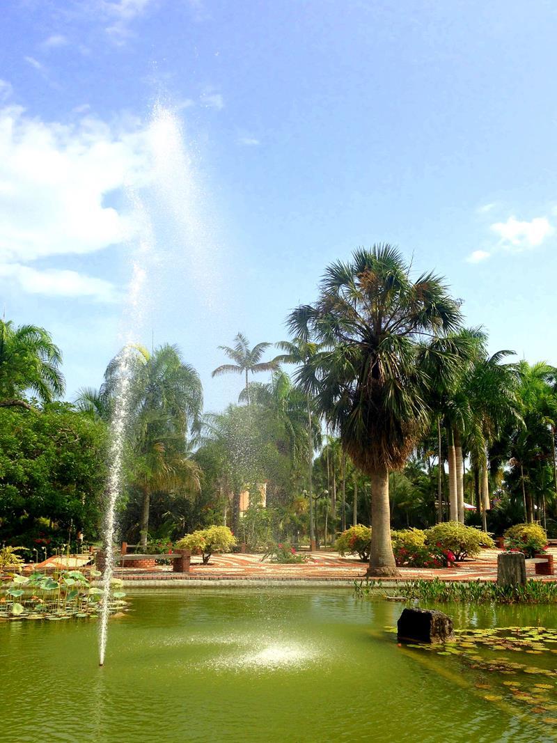 Der Botanische Garten, eine grüne Oase mitten im hektischen Santo Domingo