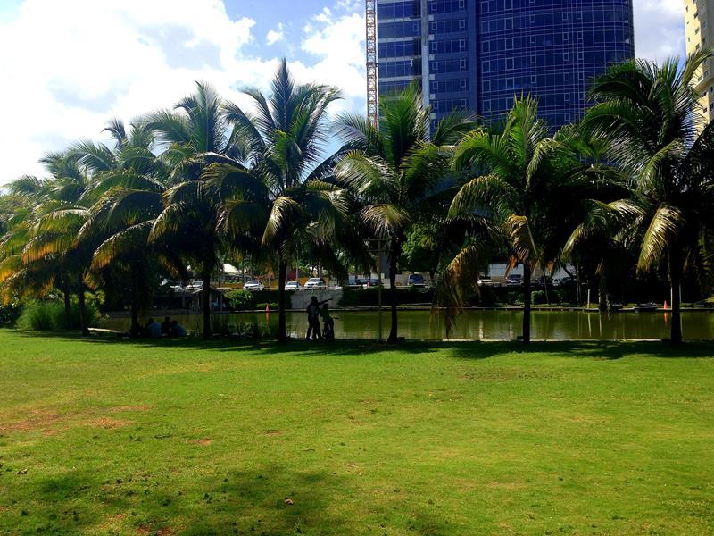 Der Parque Mirador del Sur, ein Park zum Entspannen und Joggen