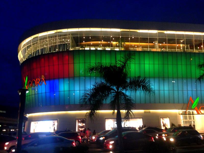 Die Agora Mall, eine der neuen Shopping-Malls in Santo Domingo