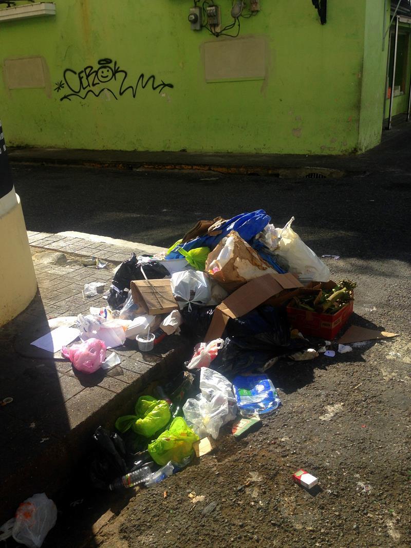 Müll, ein allgegenwärtiges Problem in Santo Domingo