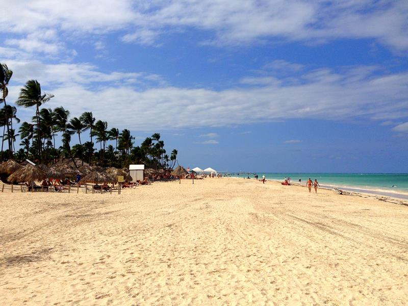 Der Bavaro Beach in Punta Cana am Now Larimar Resort