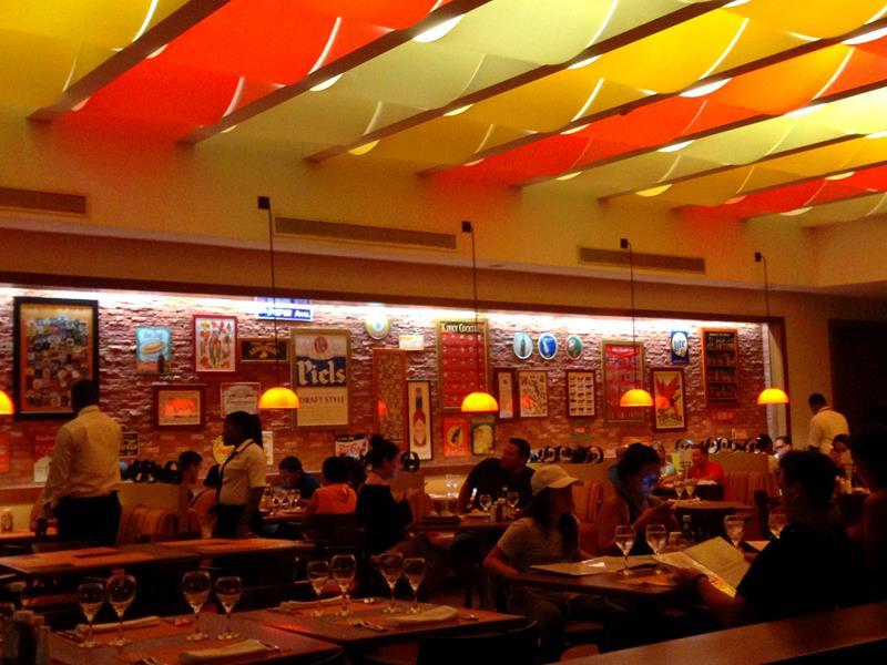 Das Bluewater Grill Restaurant im Now Larimar All-Inclusive-Resort in Punta Cana