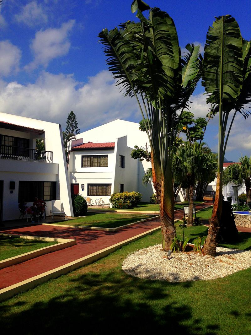 Die Anlage des BlueBay Villas Doradas, einem All-Inclusive-Resort in Puerto Plata