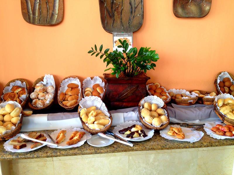 Frühstücksbuffet im BlueBay Villas Doradas in Puerto Plata