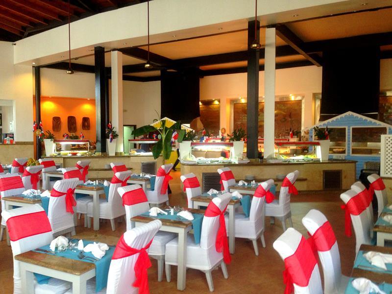 Das Buffetrestaurant im BlueBay Villas Doradas in Puerto Plata