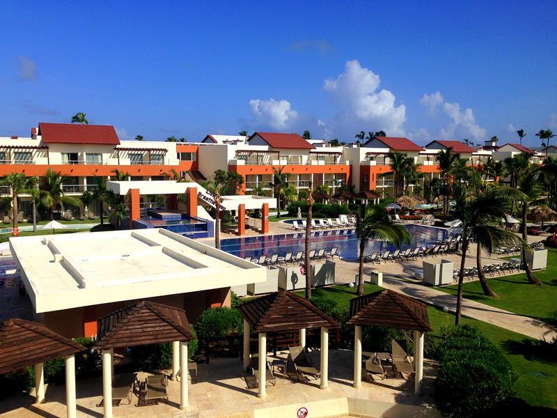 Überblick über das breathless Resort Punta Cana in Uvero Alto
