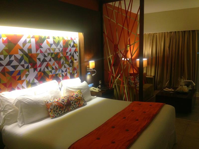 Mein Zimmer im breathless Resort Punta Cana in Uvero Alto