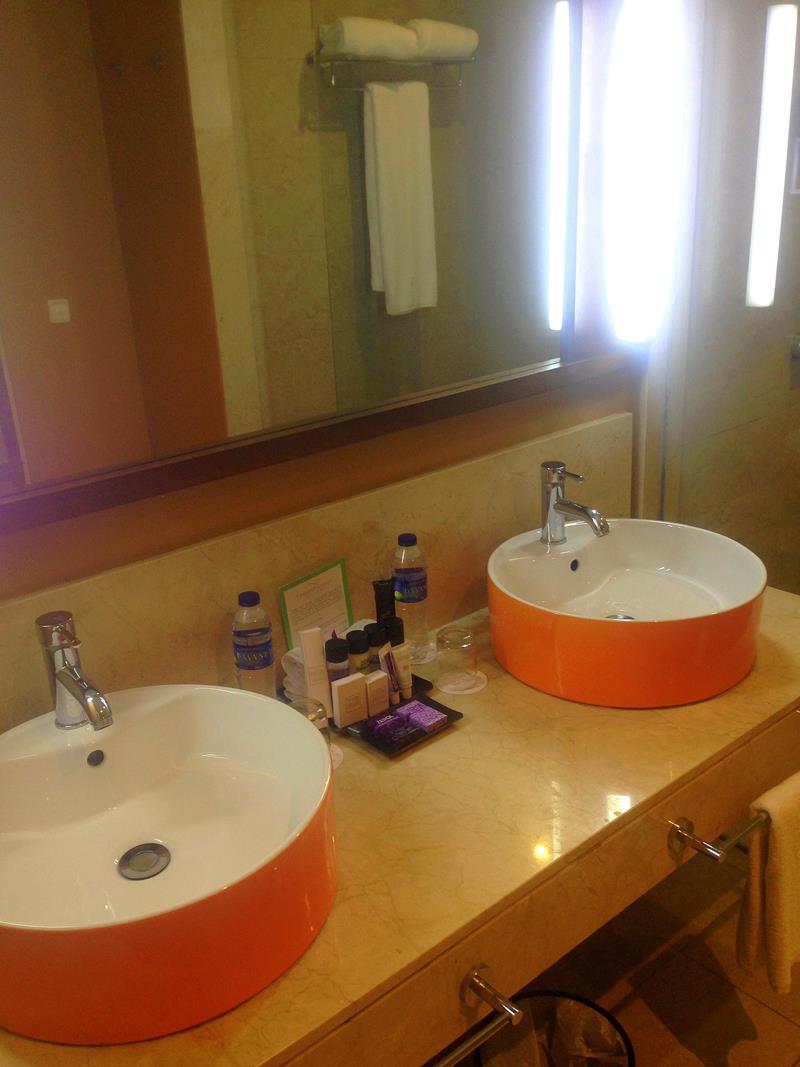 Badezimmer im breathless Resort Punta Cana in Uvero Alto