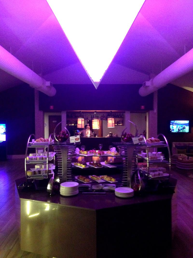 Die VIP Club Lounge des xhale Club im breathless Punta Cana