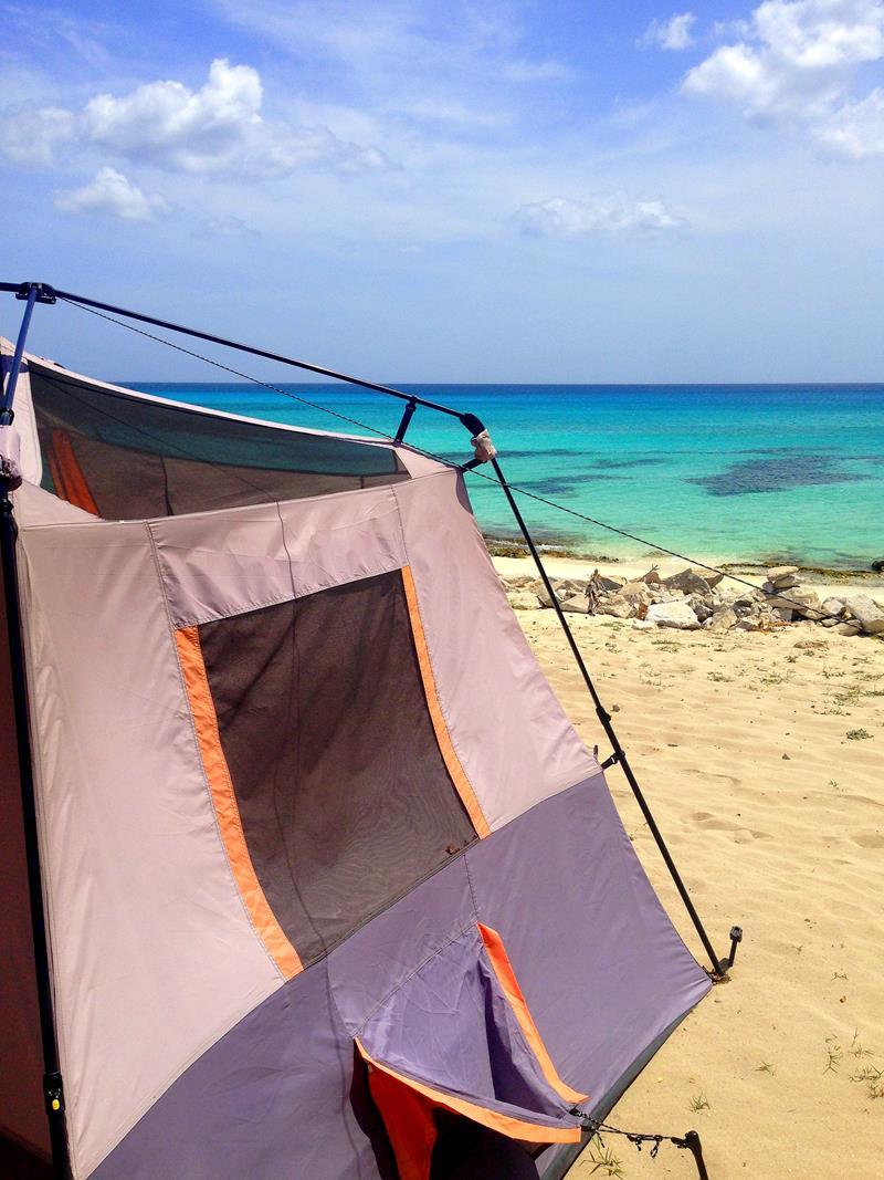 Das Glamping-Erlebnis Eco del Mar in der Nähe der Bahía de las Águilas