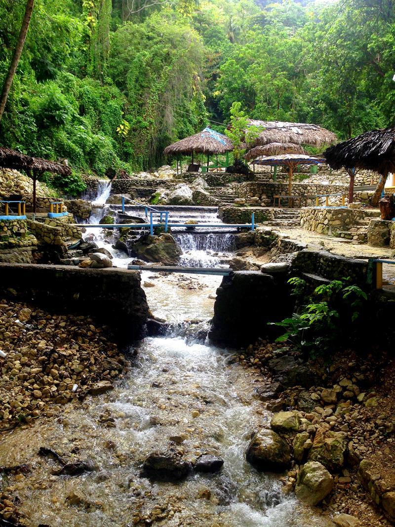 Das Balneario San Rafael, ein angestauter Fluss zum Baden