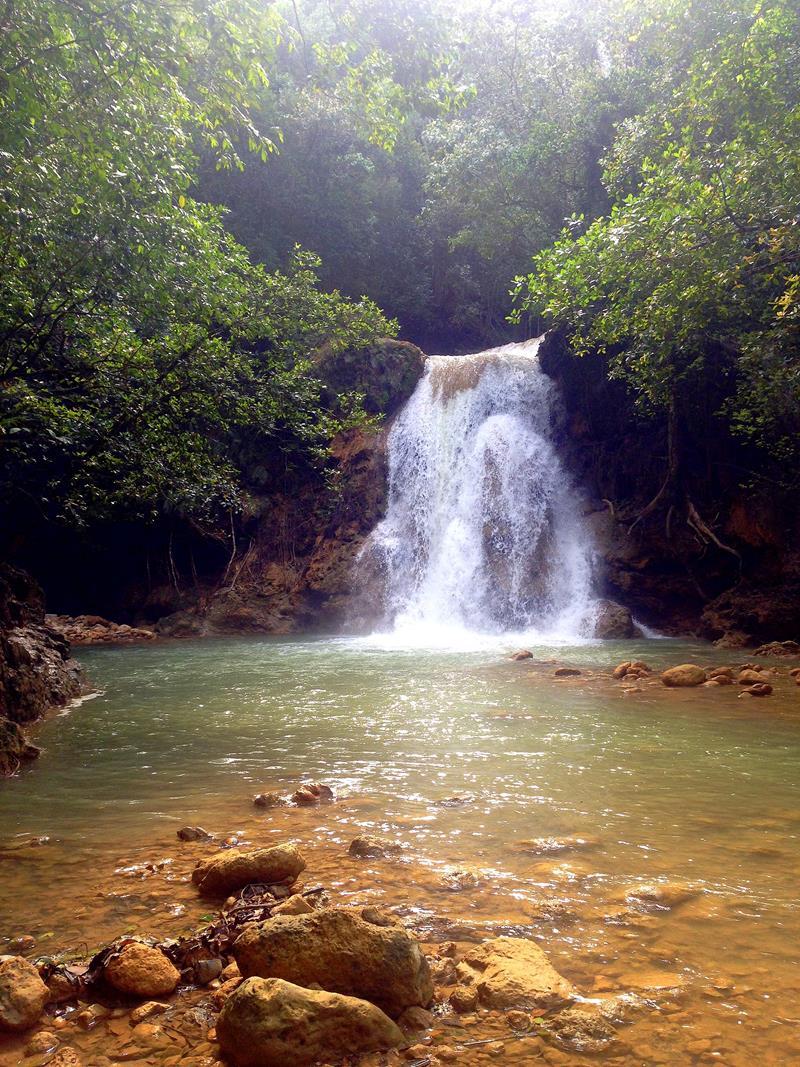 Direkt unter dem Salto El Limon gibt es noch einen zweiten Wasserfall