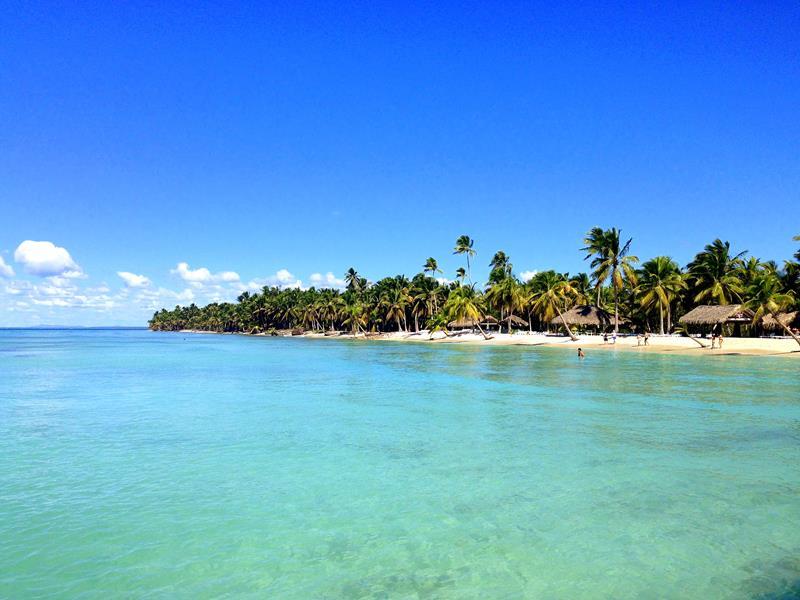 Die Isla Saona, eine der bekanntesten Touristen-Attraktionen in der Dominikanischen Republik