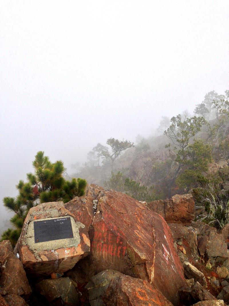 Der Gipfel, der Pico Duarte, das Dach der Karibik und höchster Berg der Dominikanischen Republik