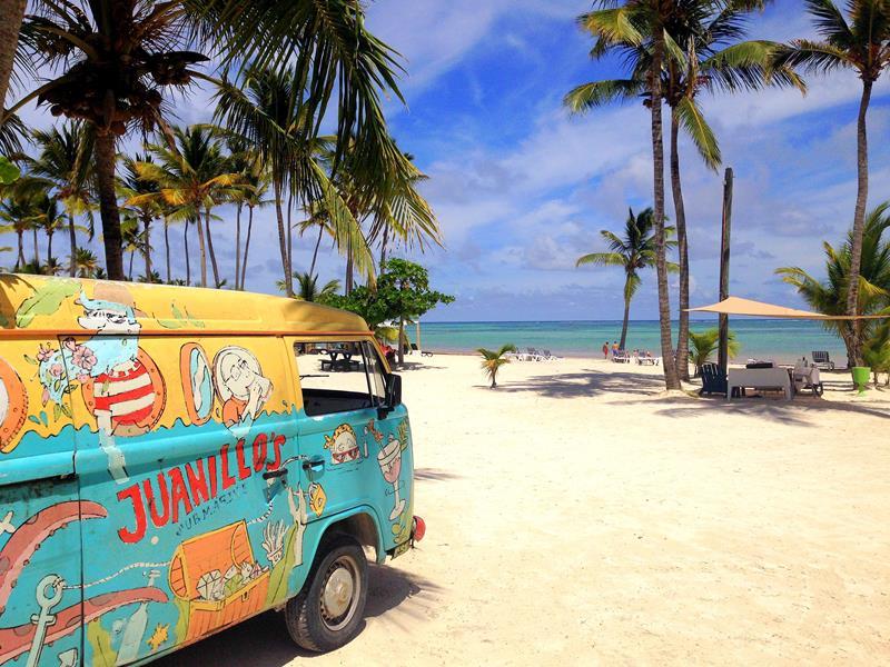 Der Juanillo Beach, einer der schönsten Strände in Punta Cana