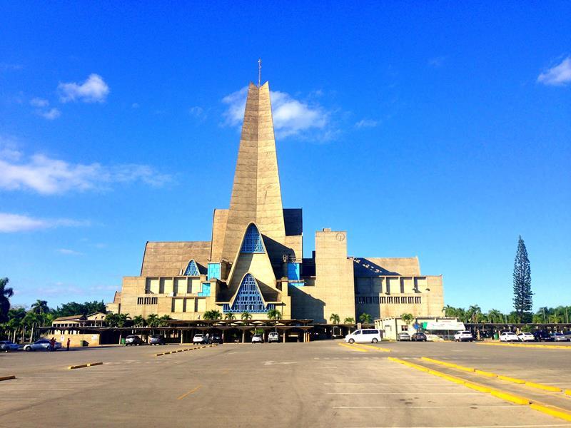 Die berühmte Basilika von Higuey