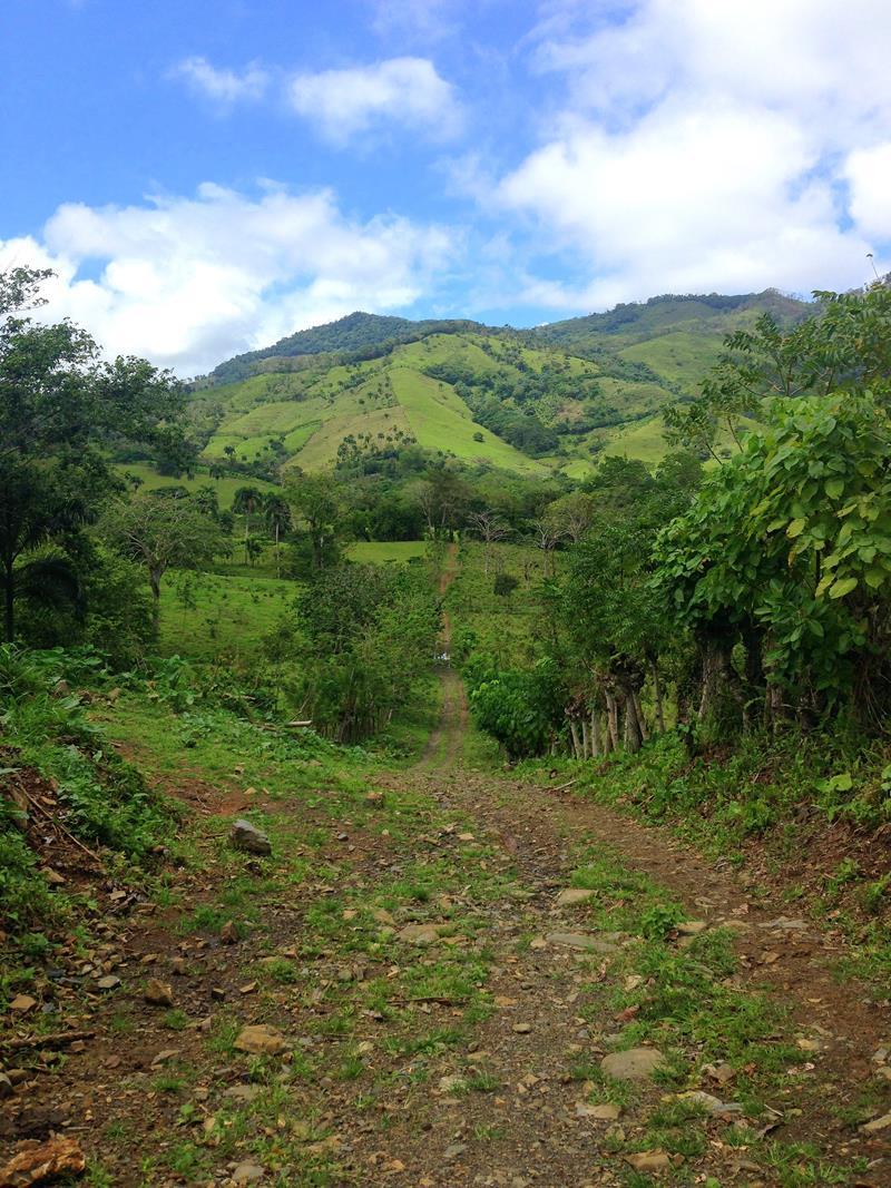Das Anamuya-Gebirge im Osten der Dominikanischen Republik in der Nähe von Punta Cana