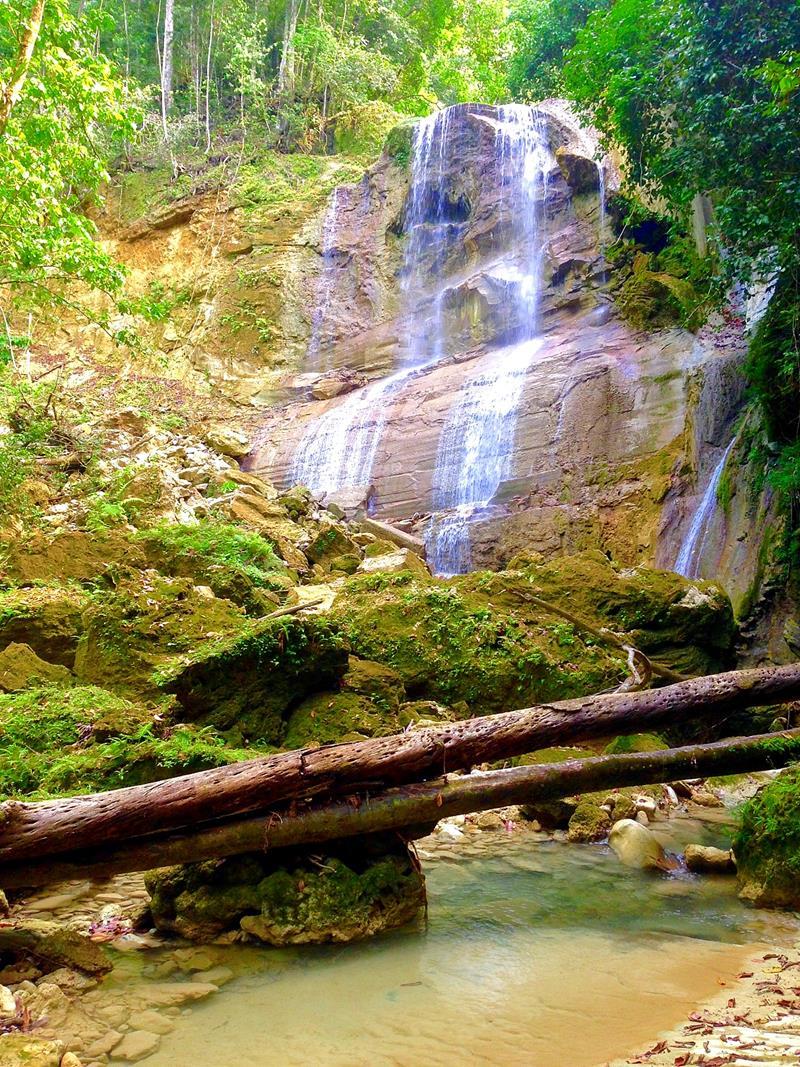 La Rejolla, eine spektakuläre Serie von Wasserfällen zwischen Puerto Plata und Sosua