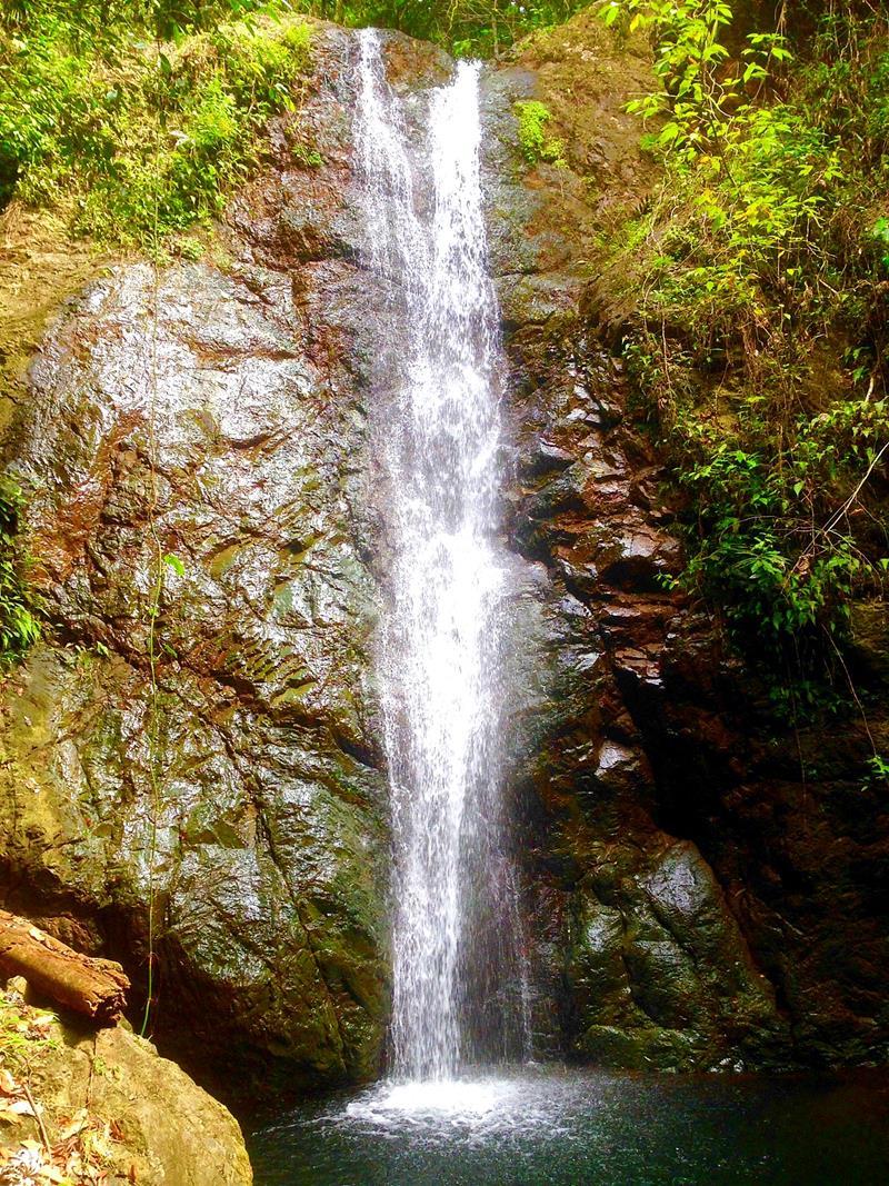 Der Salto El Higuero in der Nähe von Santo Domingo
