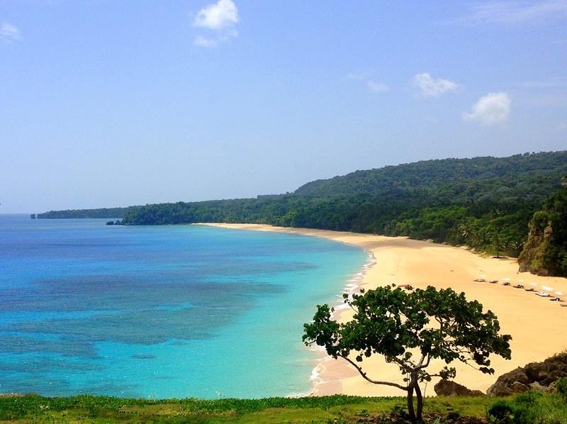 Der Playa Grande im Norden der Dominikanischen Republik