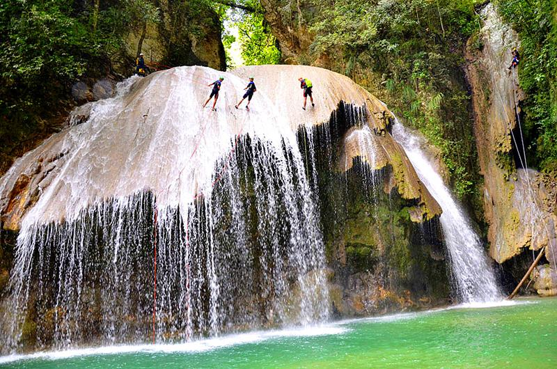Der Magic Mushroom, das spannendste Canyoning und Rapelling-Abenteuer in der Dominikanischen Republik