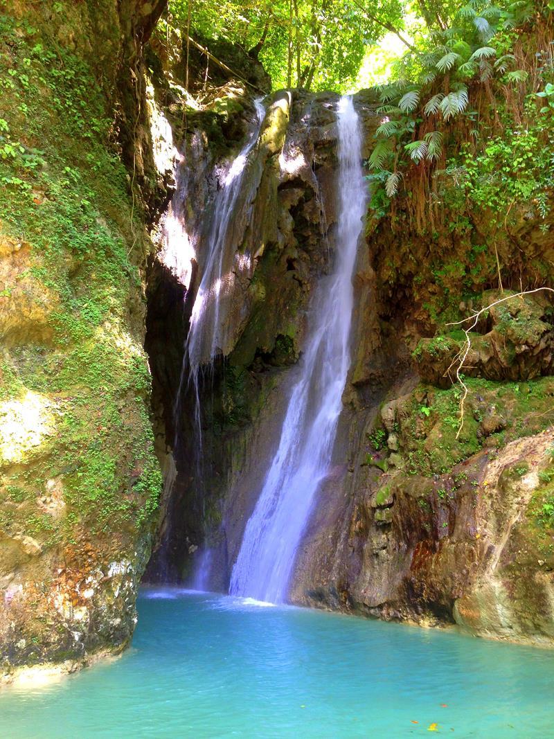 La Rejolla, einer der spektakulärsten Wasserfälle der Dominikanischen Republik