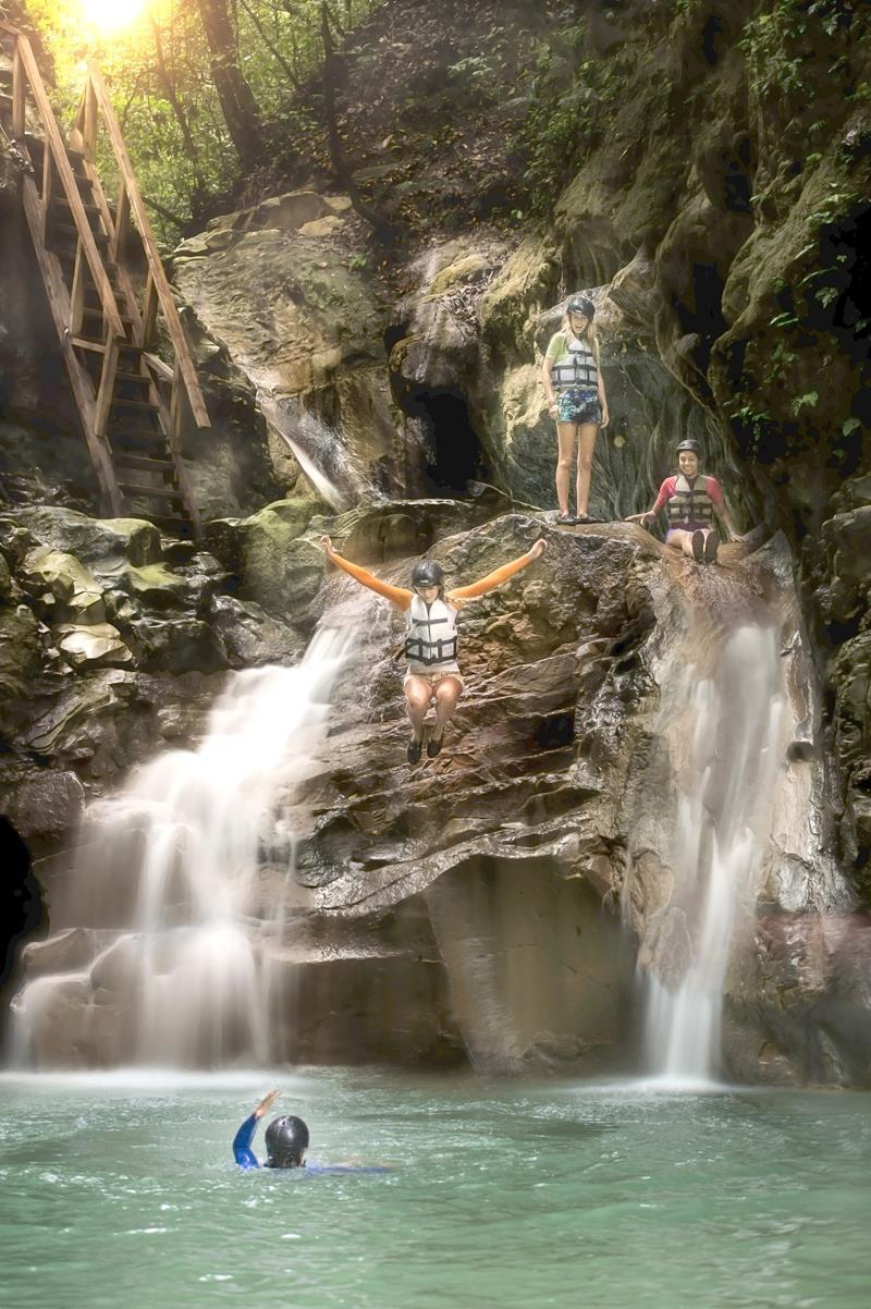 Die 27 Charcos von Damajagua, eines der beliebtesten Ausflugsziele der Dominikanischen Republik