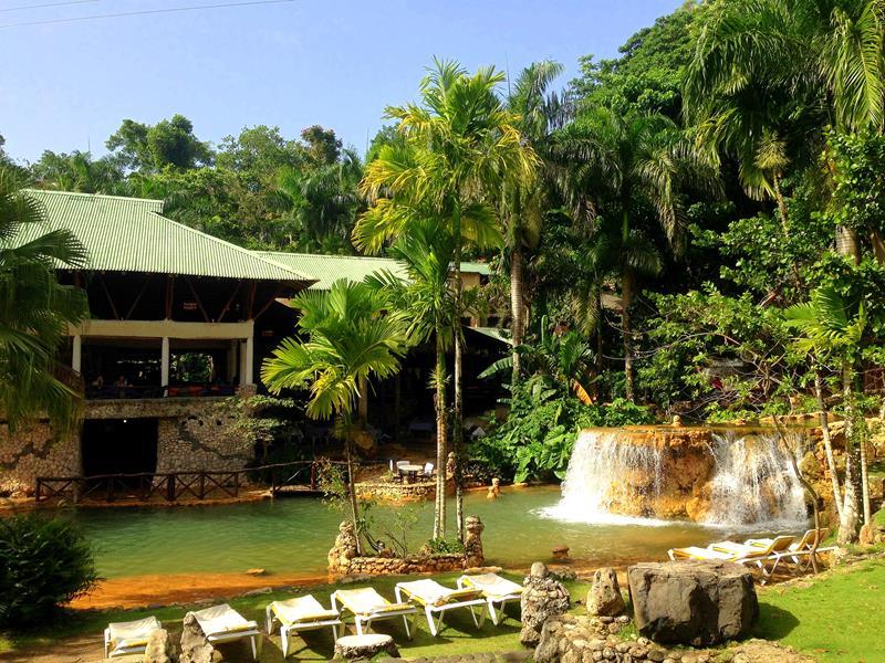 Die Eco-Lodge Paraiso Cano Hondo im Nationalpark Los Haitises