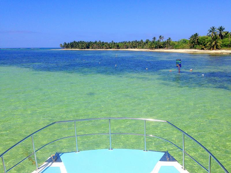 Katamaran-Tour entlang der Strände von Bavaro in Punta Cana