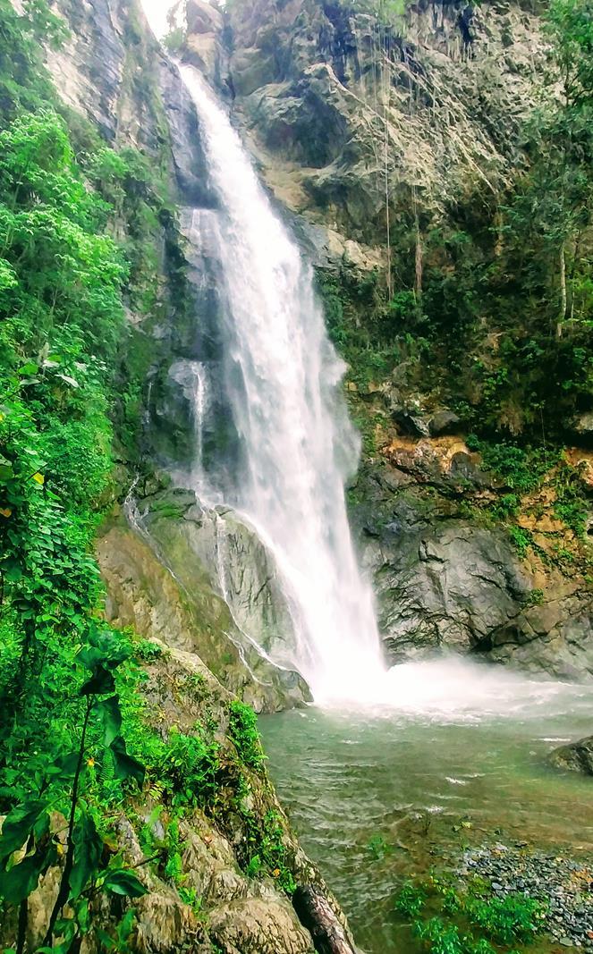 Der Salto San Pedro in der Nähe von San Juan de la Maguana