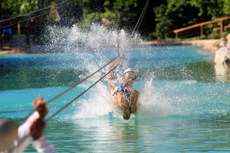 Der Erlebnispark Scape Park Cap Cana in Punta Cana