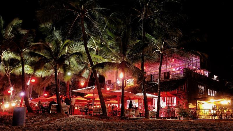 Die Bars und Restaurants direkt am Strand von Cabarete