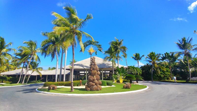 Der Eingang zum Paradisus Punta Cana Resort