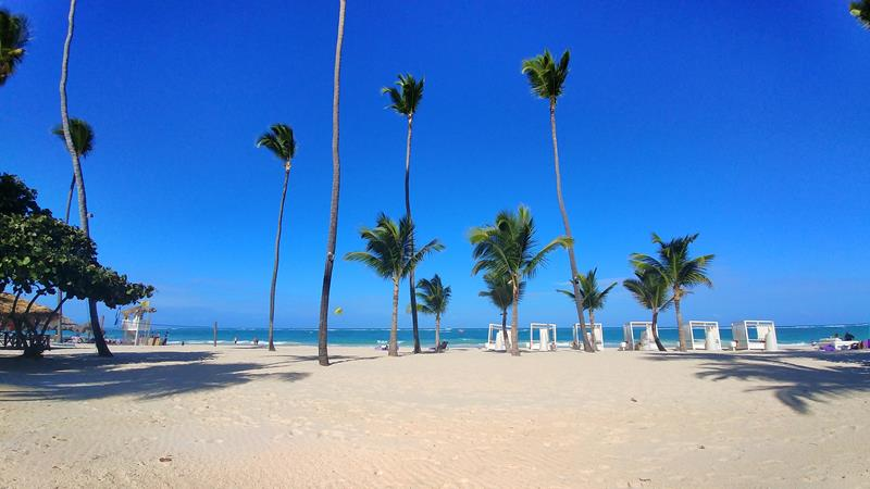 Der tolle Strand am Paradisus Punta Cana