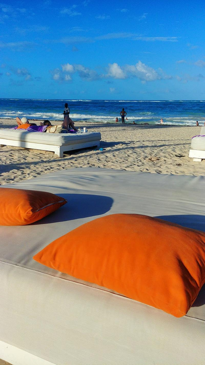 Der tolle Strand am Paradisus Punta Cana