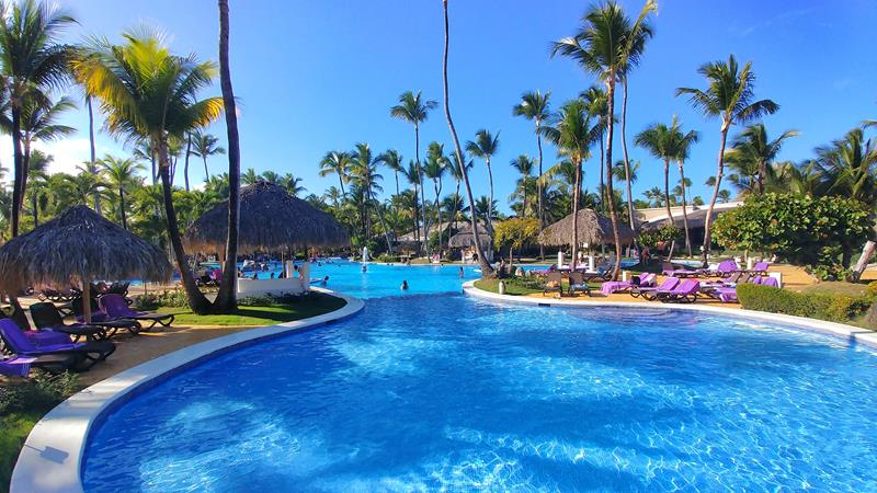 Der Pool im Paradisus Punta Cana