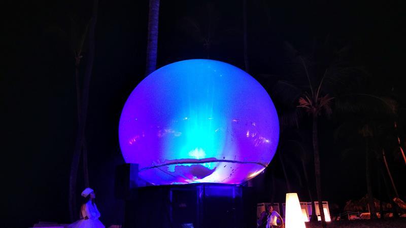 Nächtliches Entertainment gibt es ebenso in den All-Inclusive Resorts von Punta Cana